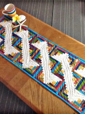 Along the Nile Table Runner pattern by Jean Ann Wright