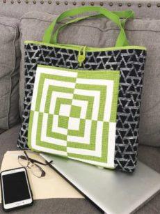 Bento Box Briefcase pattern by Jean Ann Wright