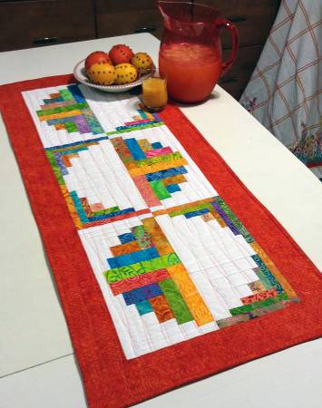 Citrus Table Runner Pattern by Jean Ann Wright