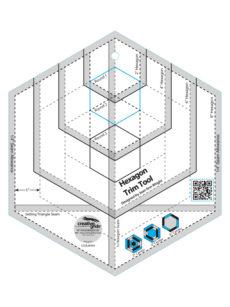 """Hexagon Trim Tool 8"""""""