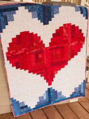 I Love America pattern by Jean Ann Wright