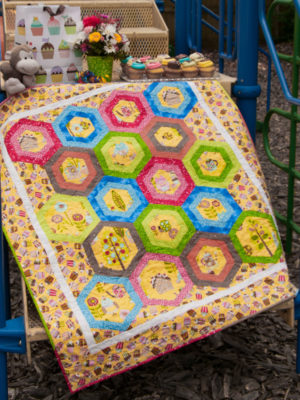 I Spy Hexie pattern by Jean Ann Wright