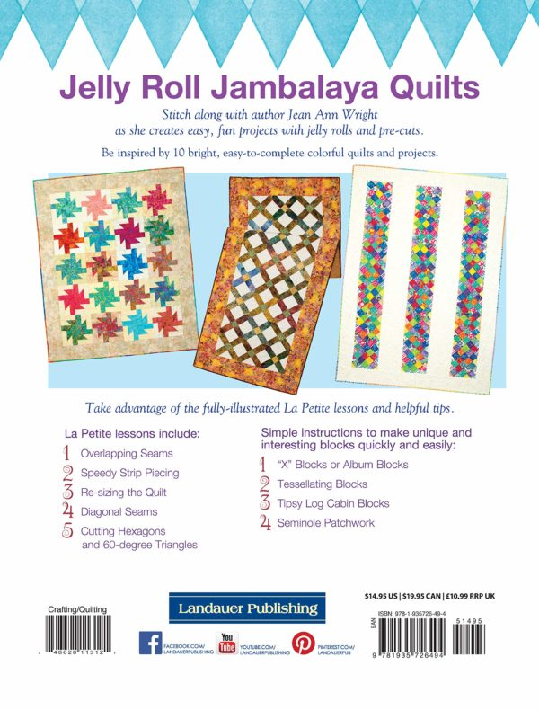 Page from Jelly Roll Jumbalaya book by Jean Ann Wright