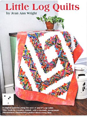 Cover of Little Log Quilts book by Jean Ann Wright