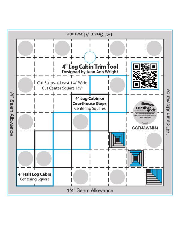 "Log Cabin Trim Tool 4"" by Jean Ann Wright"