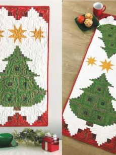 Pine Tree Banner pattern by Jean Ann Wright