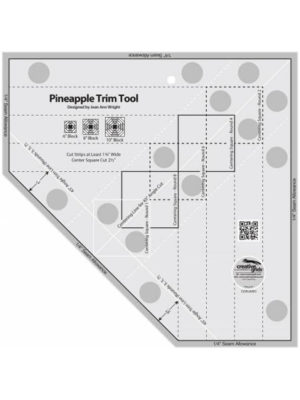 "Pineapple Trim Tool 8–10"" by Jean Ann Wright"