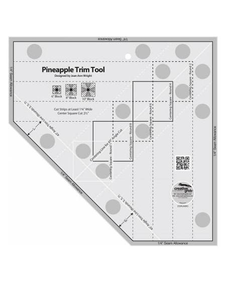 "Pineapple Trim Tool 8–10"" by Jean Ann Wright"