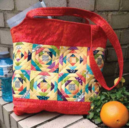 Pineapple Sizzle Tote pattern by Jean Ann Wright
