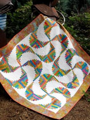 Rainbow Swirls pattern by Jean Ann Wright