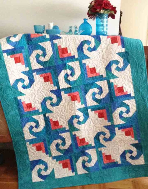 Rosebud Trails pattern by Jean Ann Wright