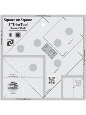 "Square on Square Trim Tool 8"" by Jean Ann Wright"