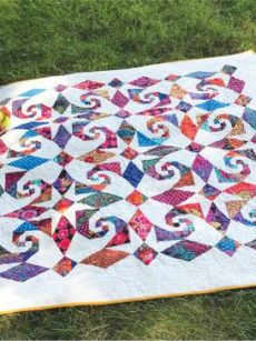 Snails al Fresco pattern by Jean Ann Wright