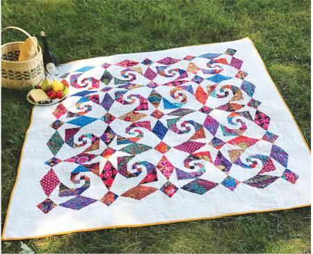 Snails al Fresco pattern by Jean Ann Wright