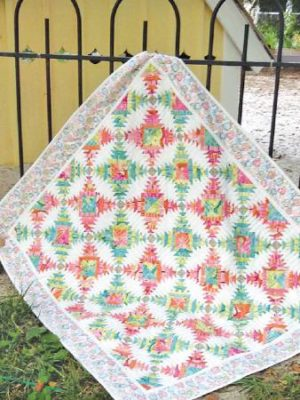 South Beach Pineapple Treats pattern by Jean Ann Wright