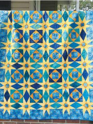 Starry Night pattern by Jean Ann Wright