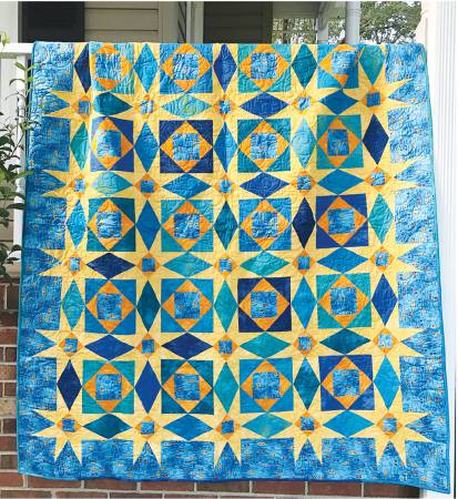 Starry Night pattern by Jean Ann Wright
