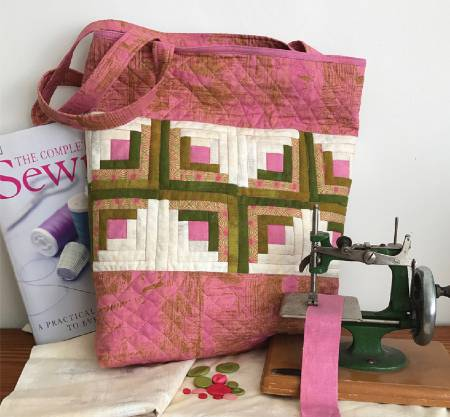 Tickled Pink Tote pattern by Jean Ann Wright