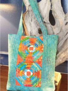 Tropical Pineapple Tote pattern by Jean Ann Wright