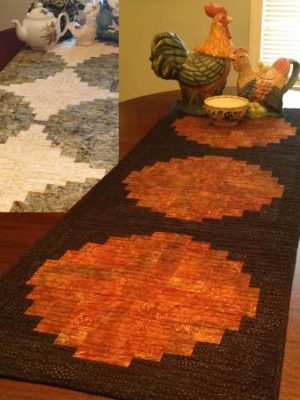 Zen Table Runner pattern by Jean Ann Wright