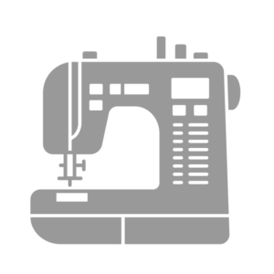 Icon of sewing machine